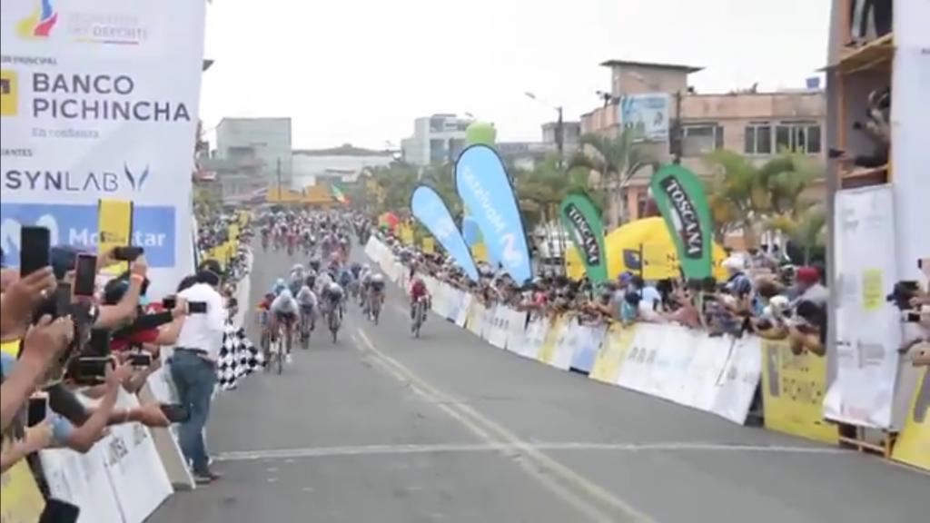 Guamá sprint etapa 2 Vuelta a Ecuador 2020