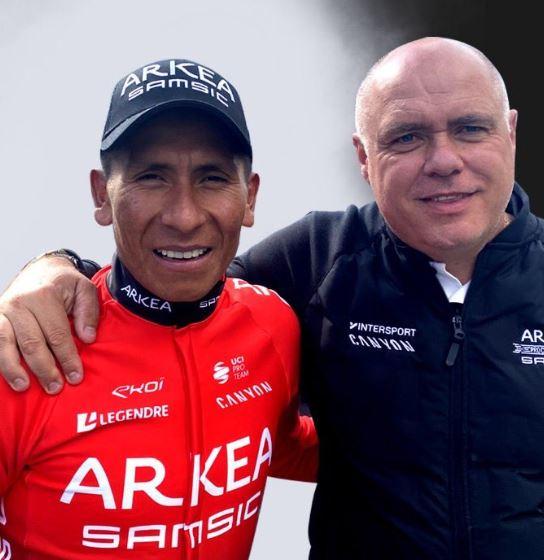 Nairo Quintana defensa Arkea Samsic