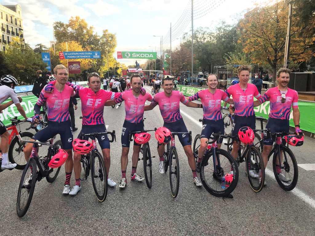 Carthy palabras podio Vuelta a España 2020
