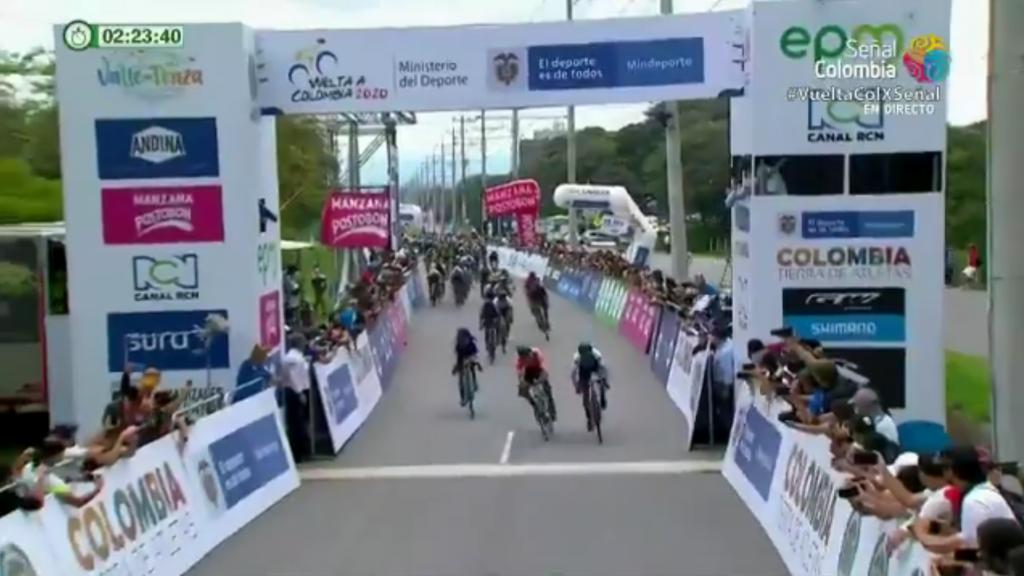 Nelson Soto etapa 4 ganador Vuelta Colombia 2020
