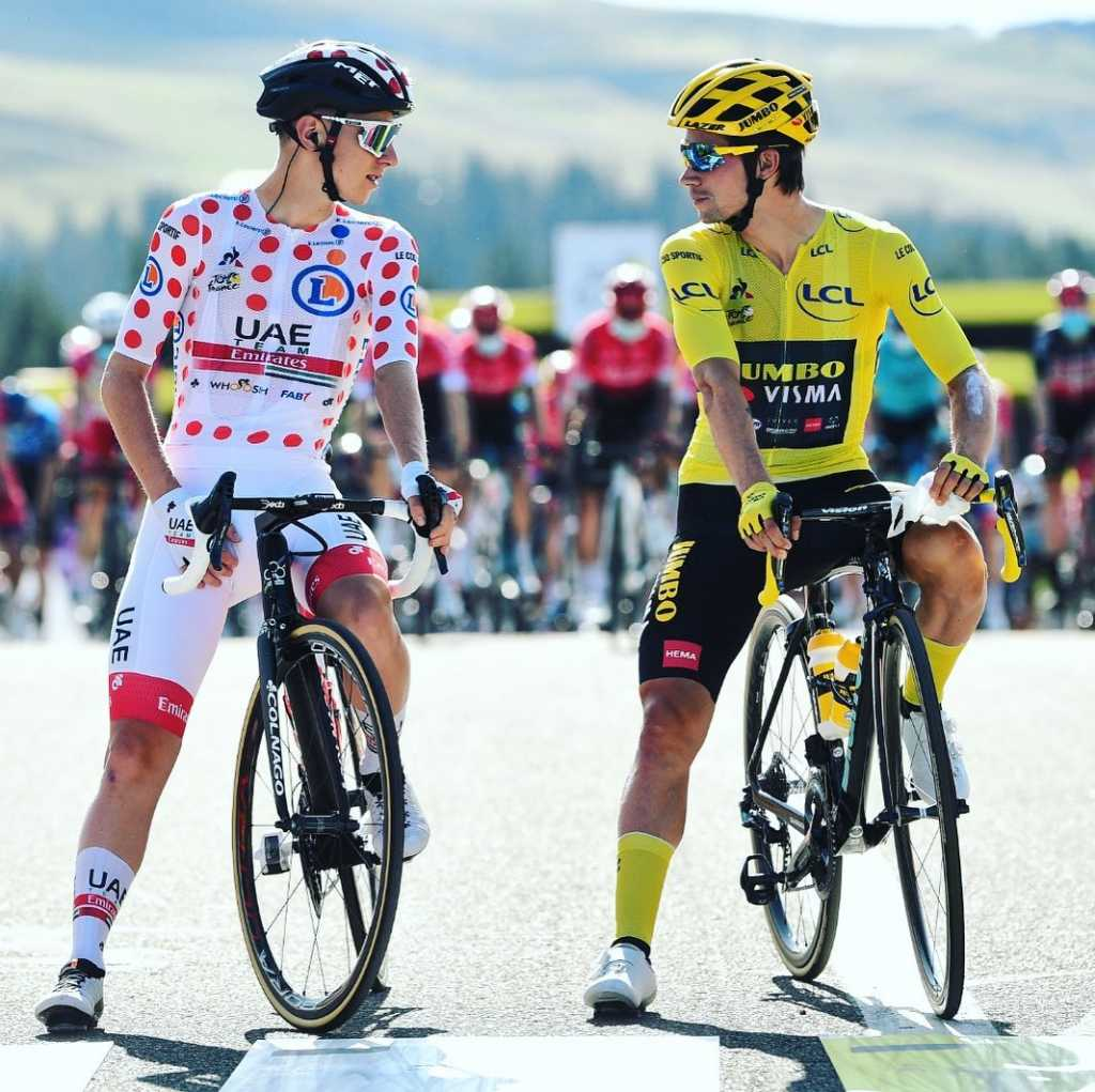 Pogacar vencer Roglic Tour 2020