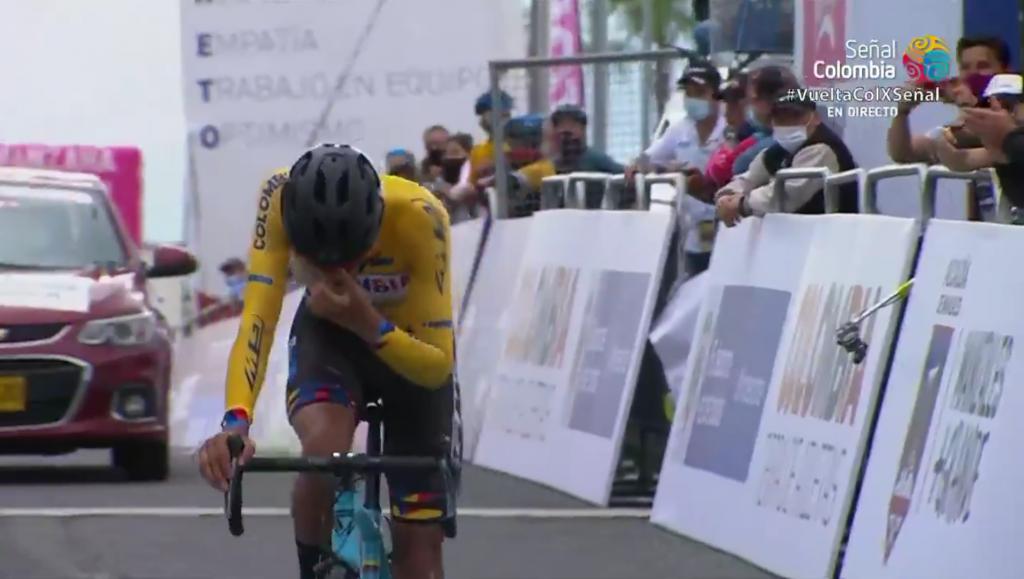 Diego Camargo histórico Vuelta a Colombia 2020