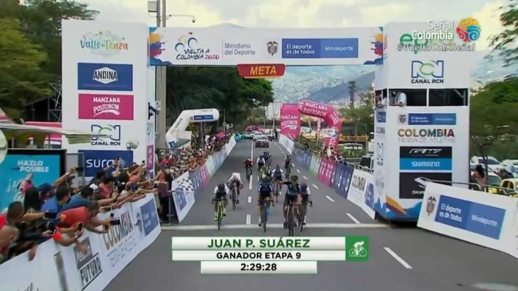 Suárez gana 9 Colombia 2020