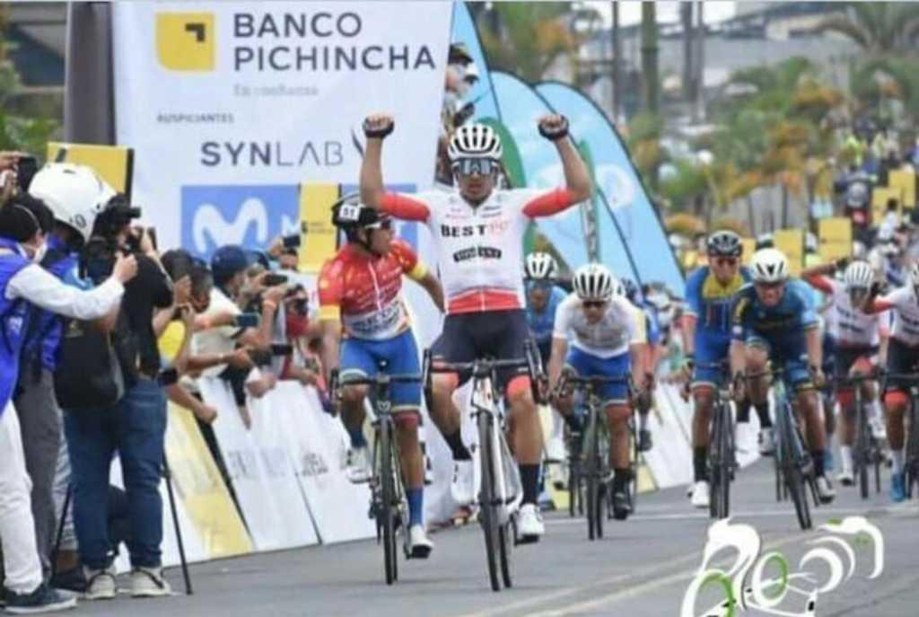 Guamá gana 2 Vuelta Ecuador