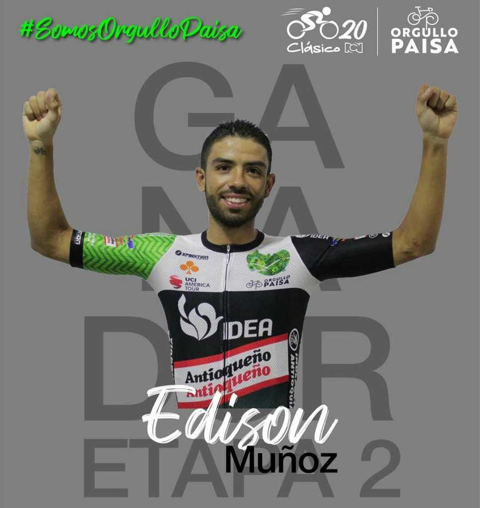 caída Muñoz Clásico RCN 2020