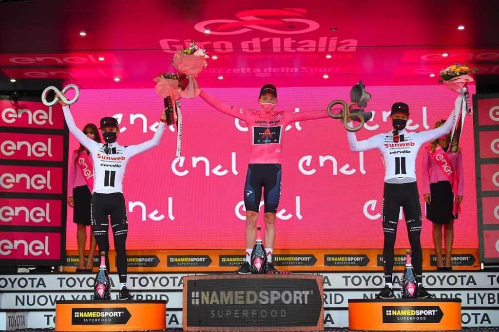 desconocido subcampeón Giro de Italia 2020 carrera