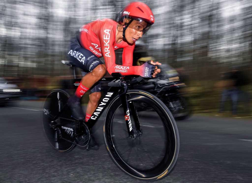 Nairo Quintana ciclismo colombiano mejorar crono