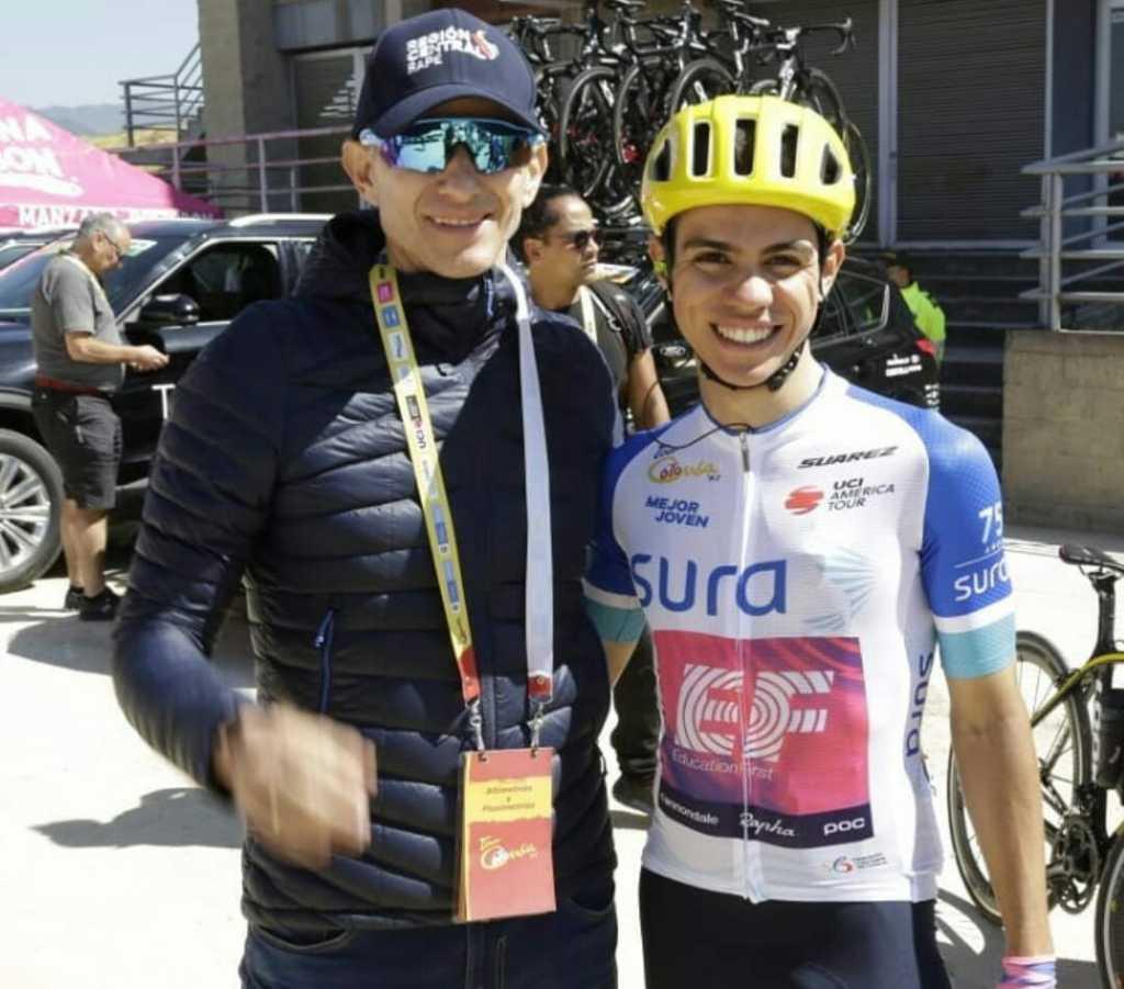 Saldarriaga ciclista colombiano 2020