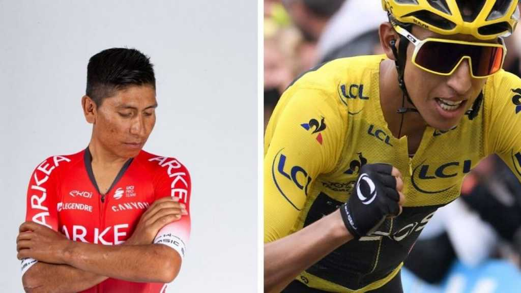 Egan Bernal Nairo Quintana Giro 2021