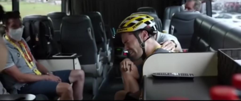Lágrimas Dumoulin Tour de Francia 2020