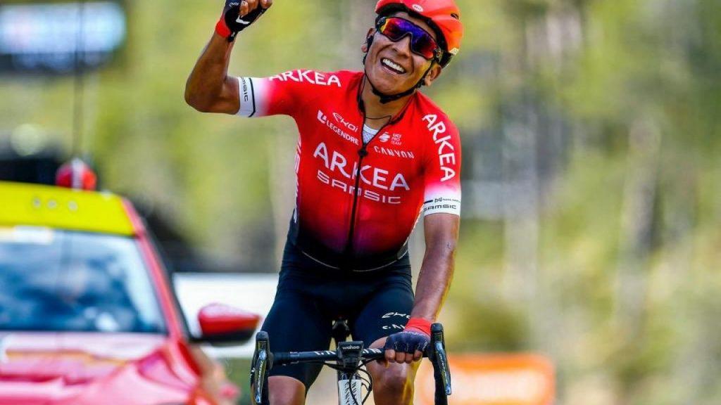 Nairo Quintana clave colombiana Arkea Samsic 2021