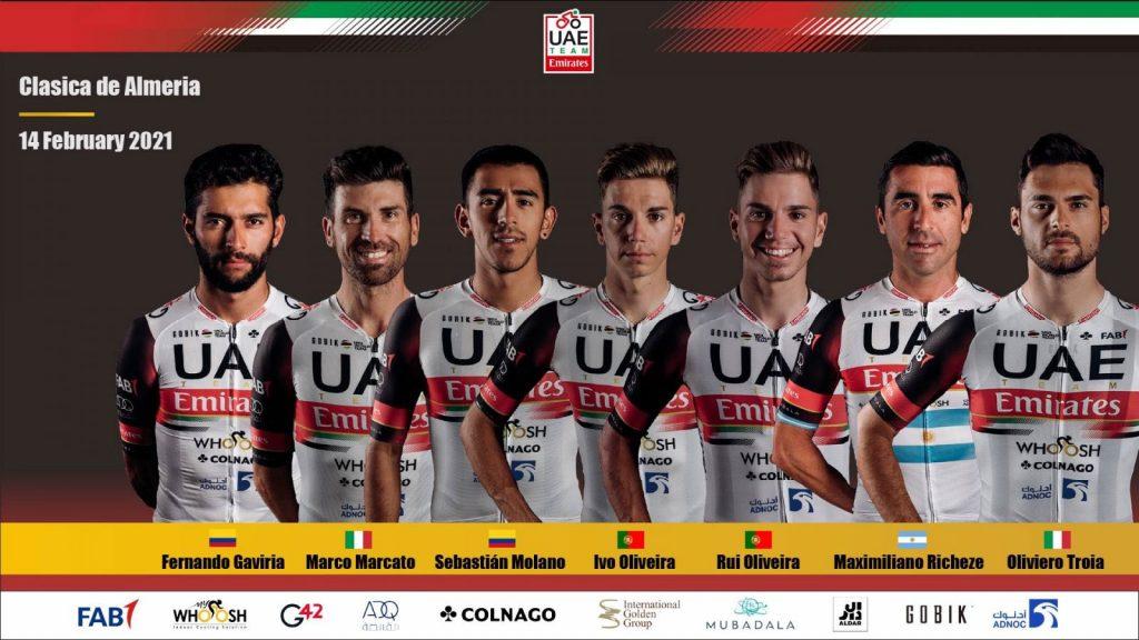 UAE Clásica Almería 2021