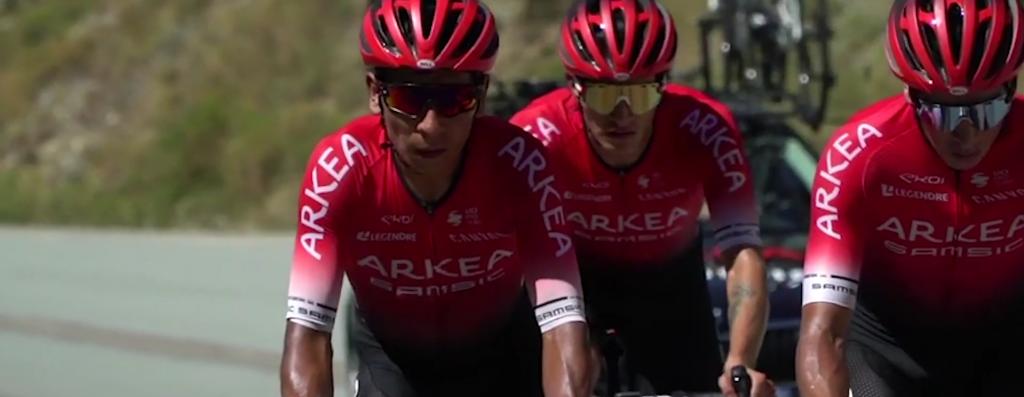 Nairo Quintana Giro de Italia 2021 pulla