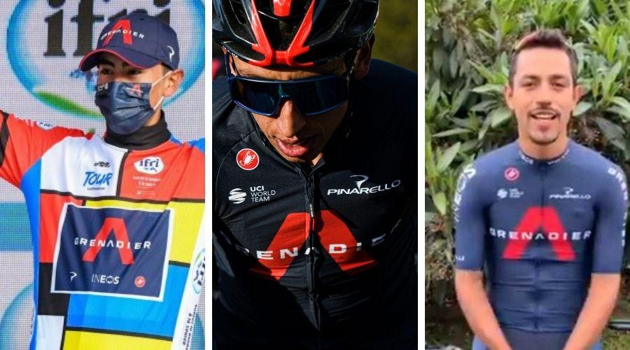 tridente colombiano Giro de Italia 2021