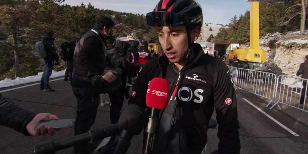 Egan Bernal entrena podio Provence 2021