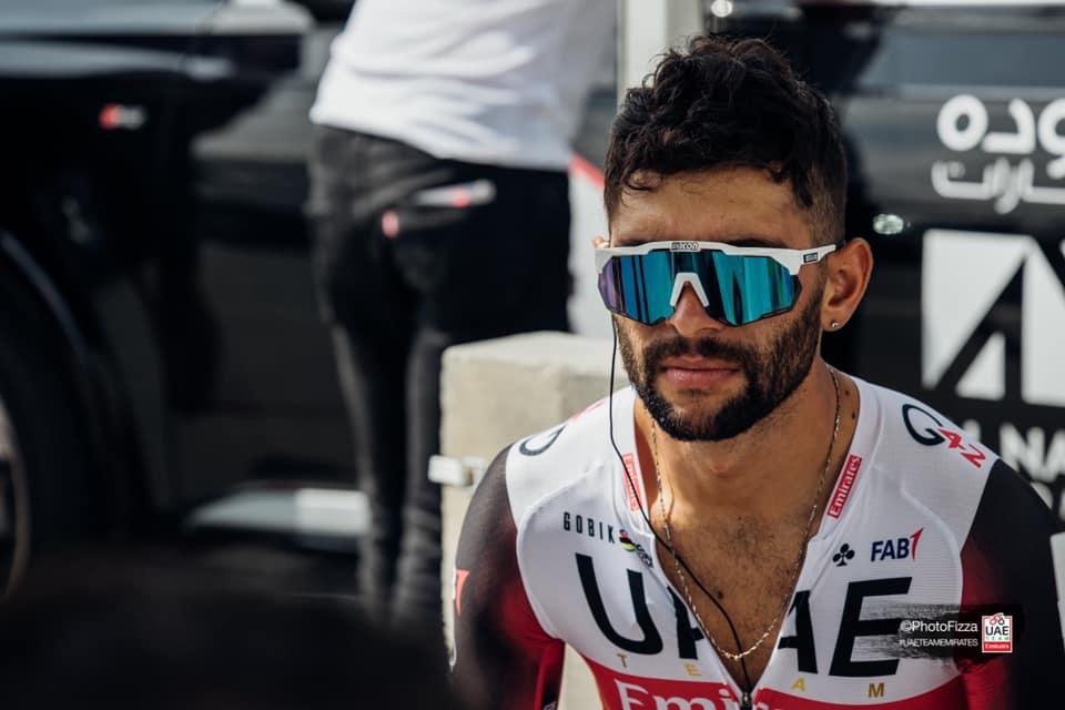 Gaviria reacción etapa 7 UAE Tour 2021