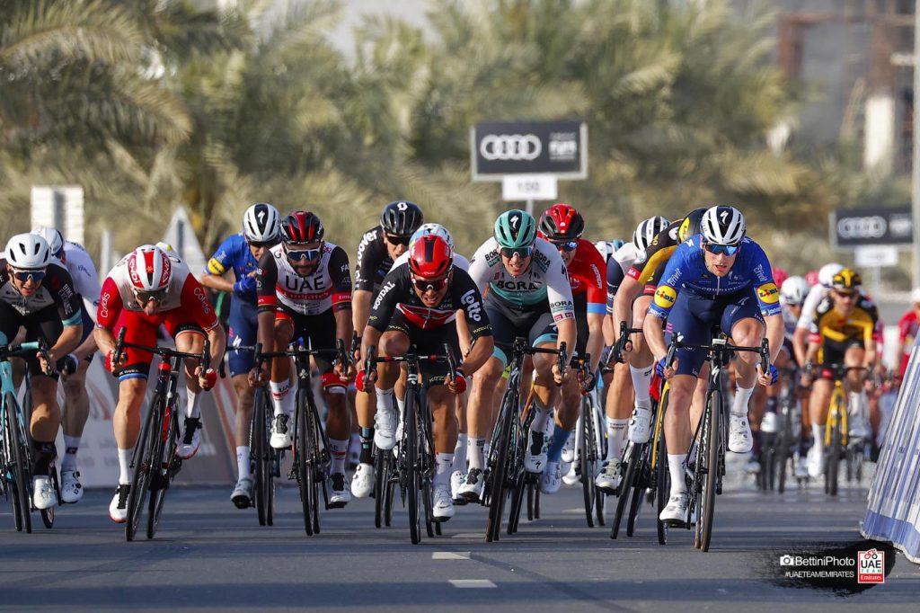Pogacar Gaviria etapa 4 UAE Tour 2021