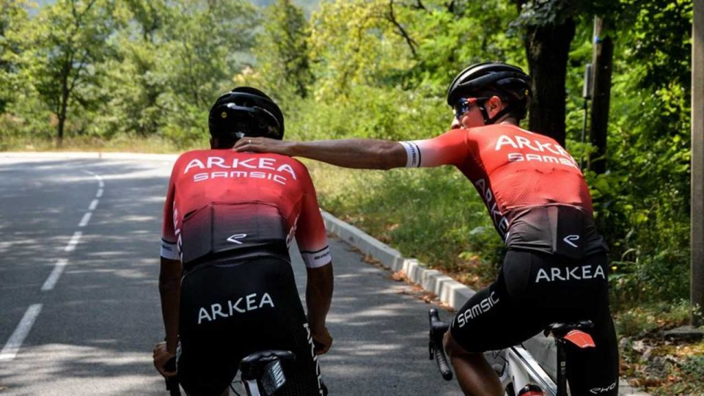 Nairo Quintana invitados Arkea carrera antes Tour 2021 Critérium Dauphiné