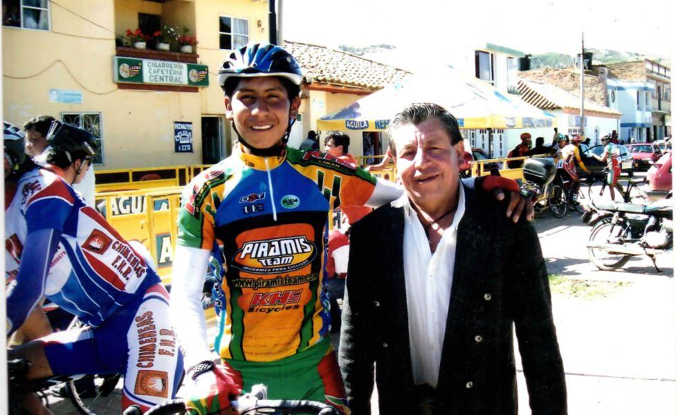 Nairo Quintana papá hospitalizado