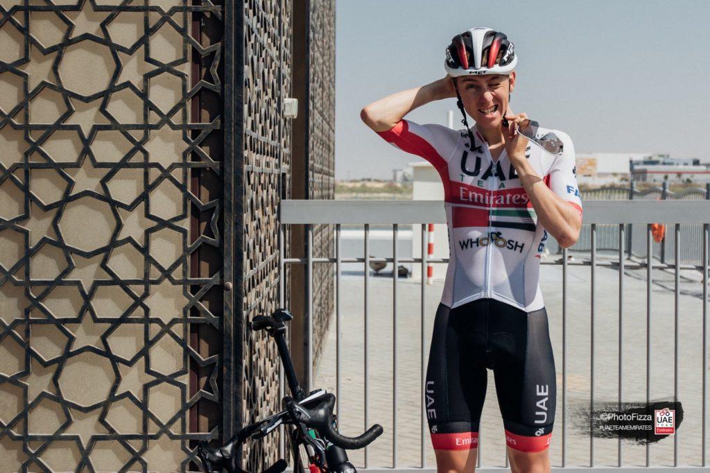 Tadej Pogacar UAE Team Emirates equipo UAE Tour