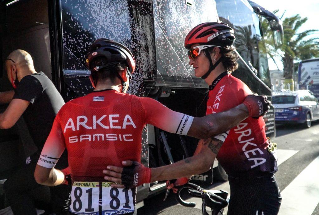 Nairo Quintana Arkea Samsic otro duro golpe 2021 invitación Vuelta a España