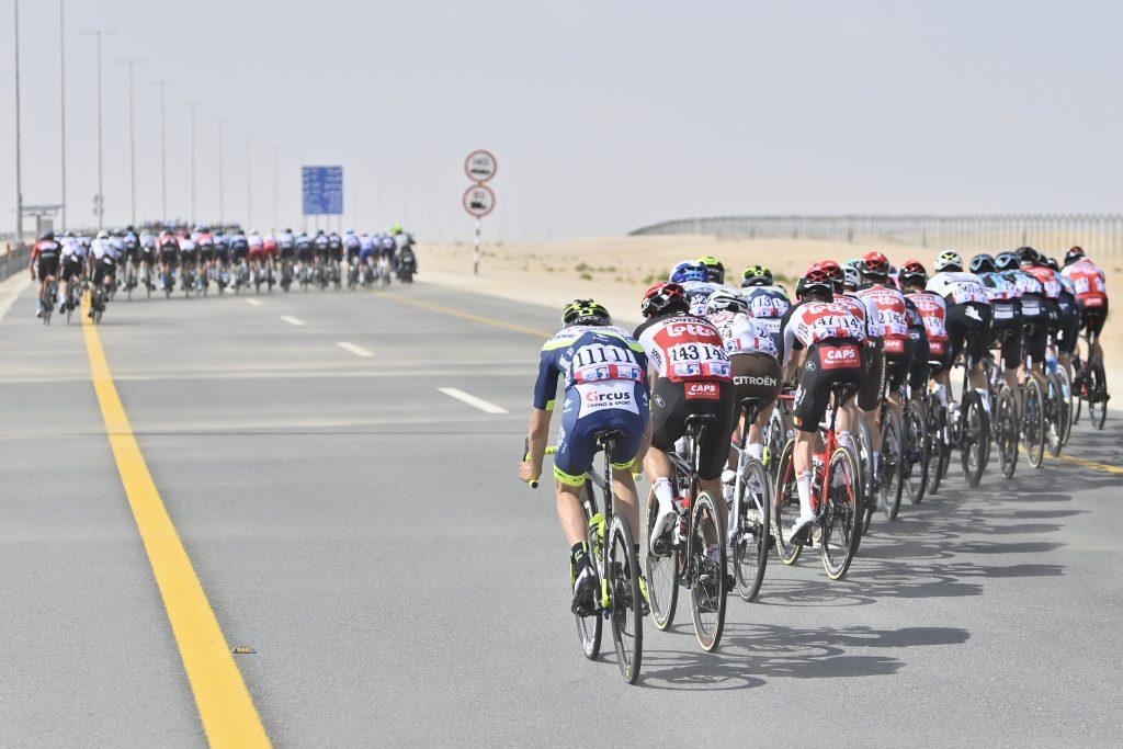 ganador etapa 1 UAE Tour 2021
