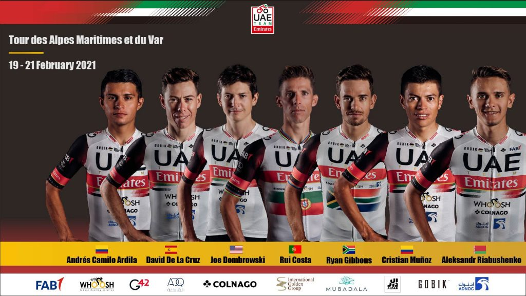 UAE Team Emirates Alpes Marítimos 2021