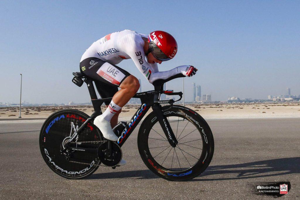 UAE Tour 2021 Pogacar crono etapa 2
