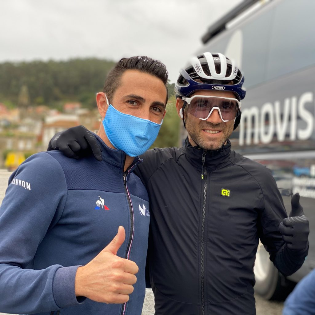 Valverde recorrido La Vuelta 2021