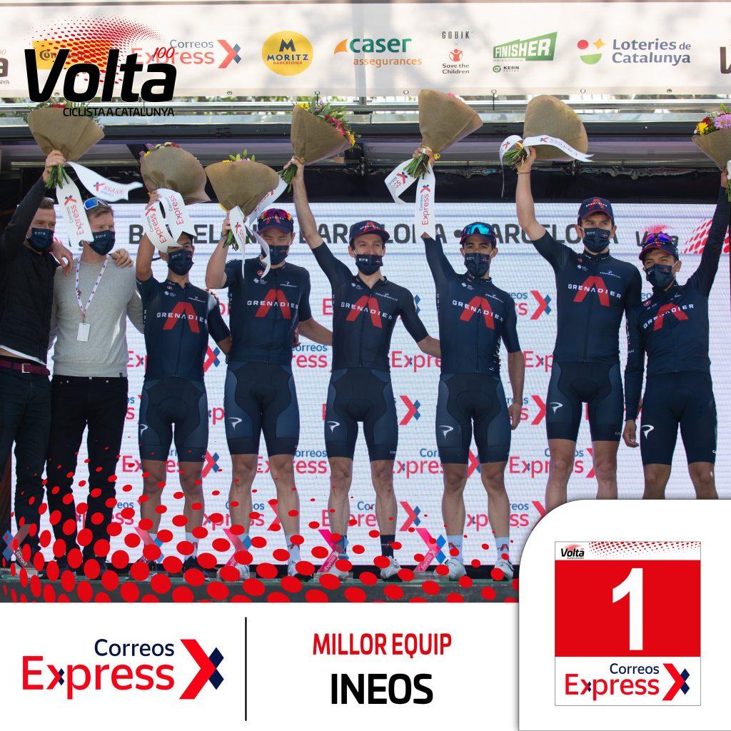 Richard Carapaz premio Vuelta a Cataluña 2021