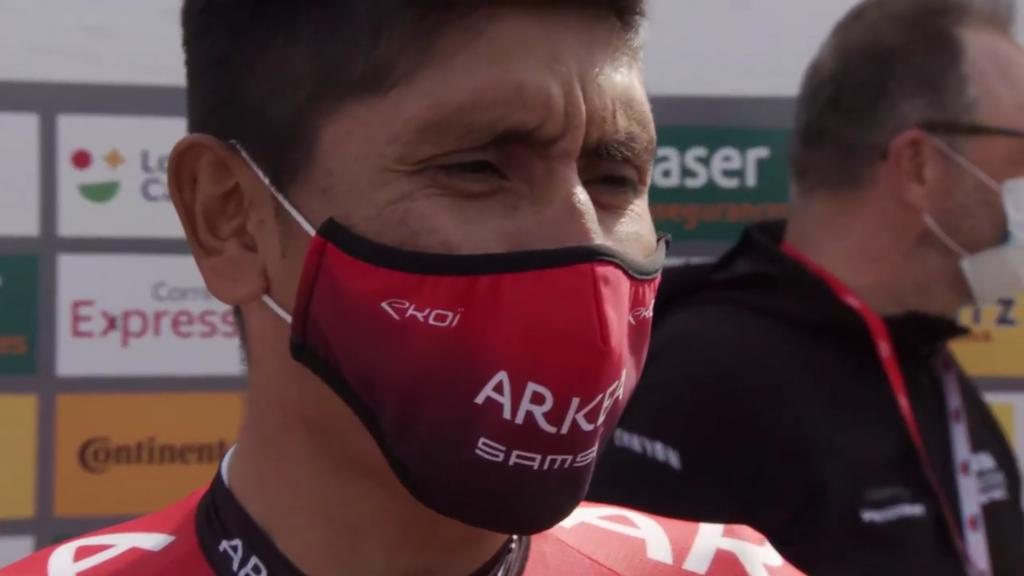 Nairo Quintana punto negativo Vuelta a Cataluña 2021 Arkea Samsic