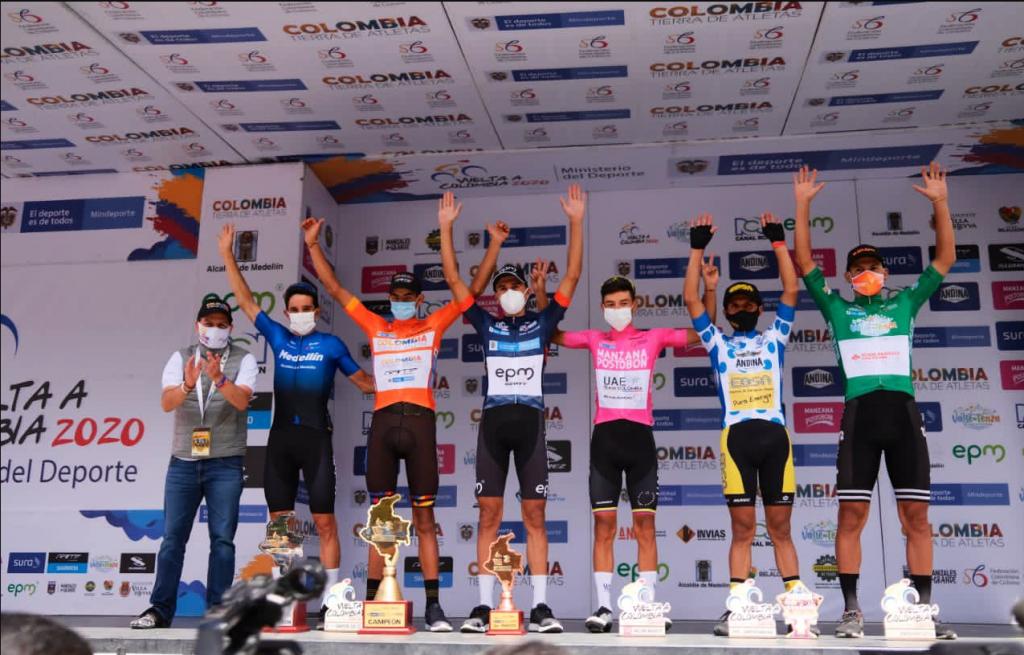 Vuelta a Colombia 2021 así sería su recorrido podio 2020