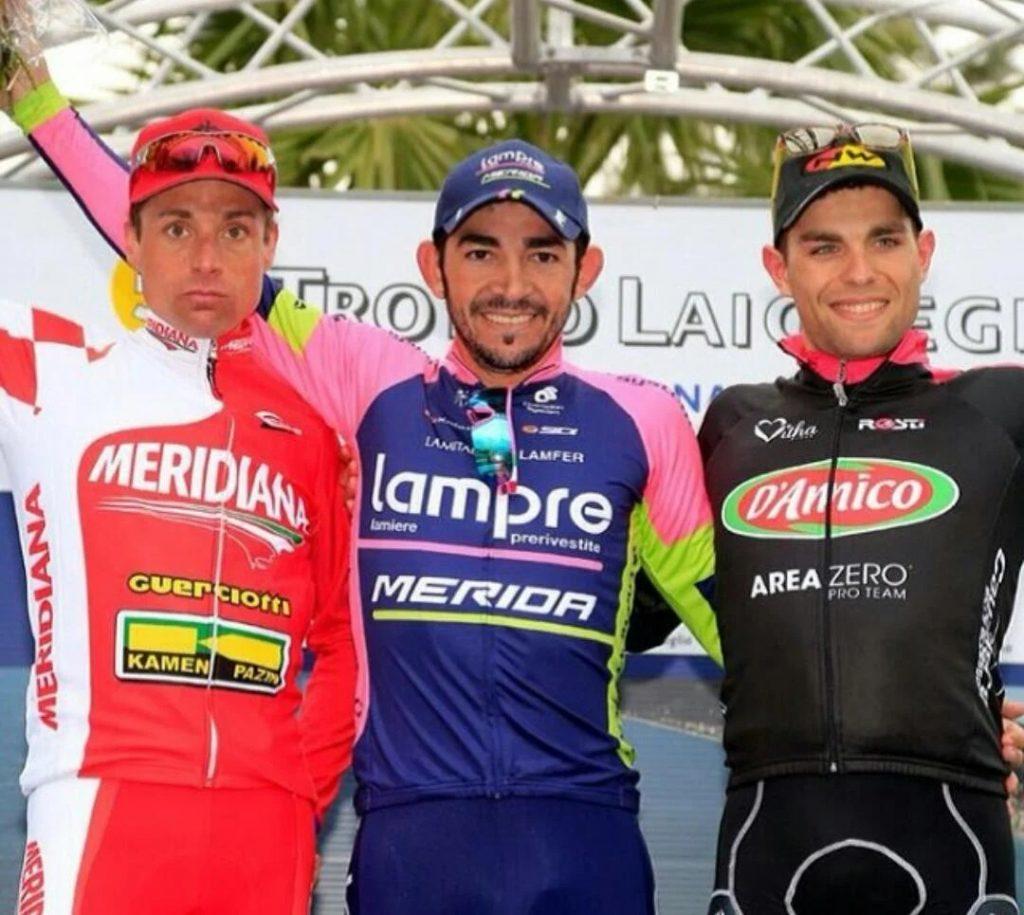 Egan ciclismo colombiano Laigueglia