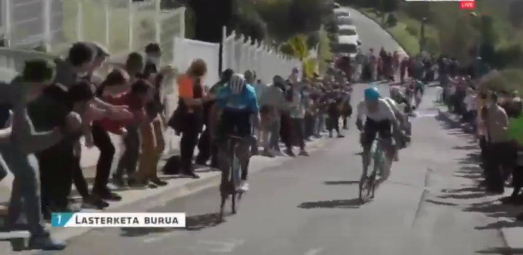 fogonazo Valverde GP Miguel Induráin 2021