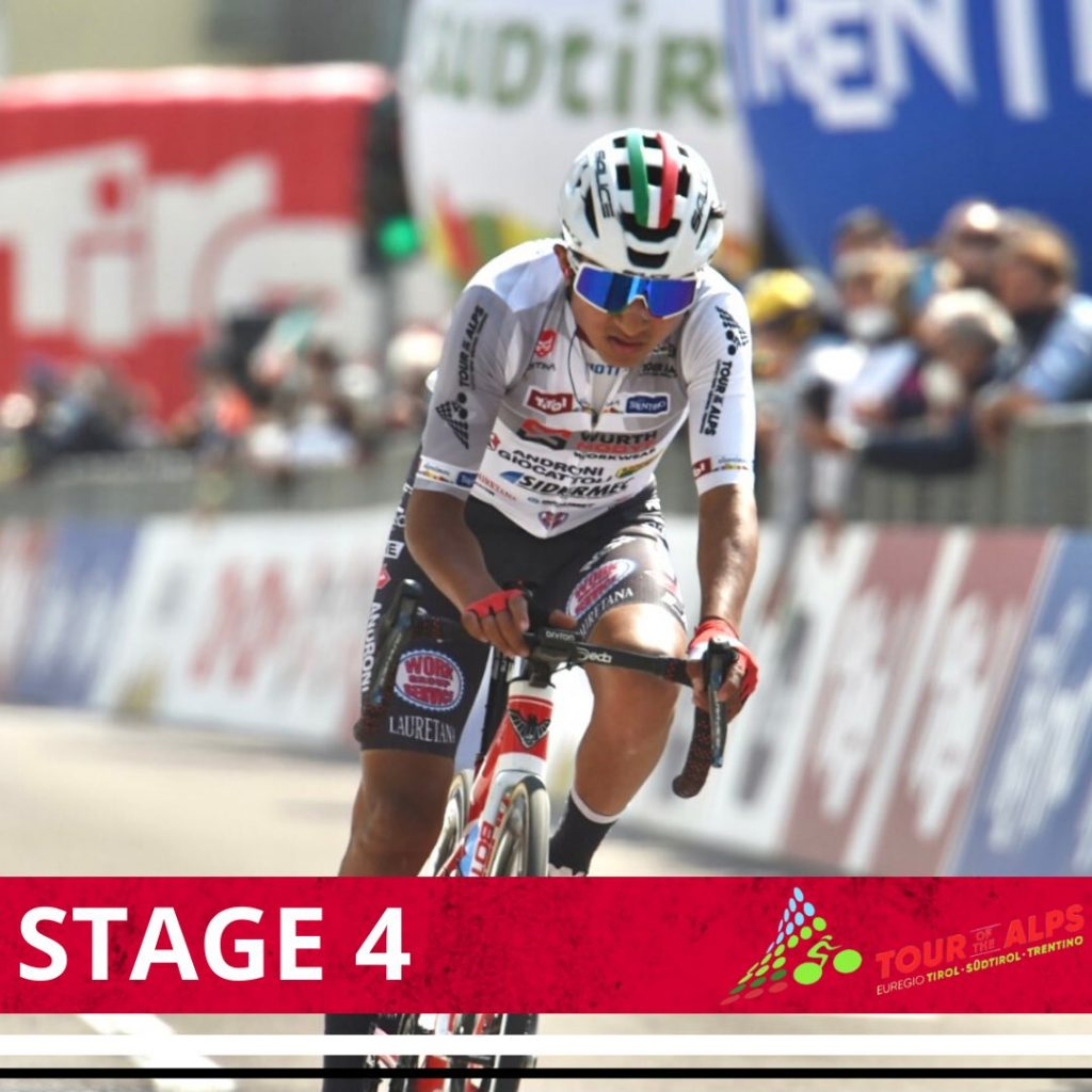 Alexander Cepeda ciclista ecuatoriano Alpes 2021