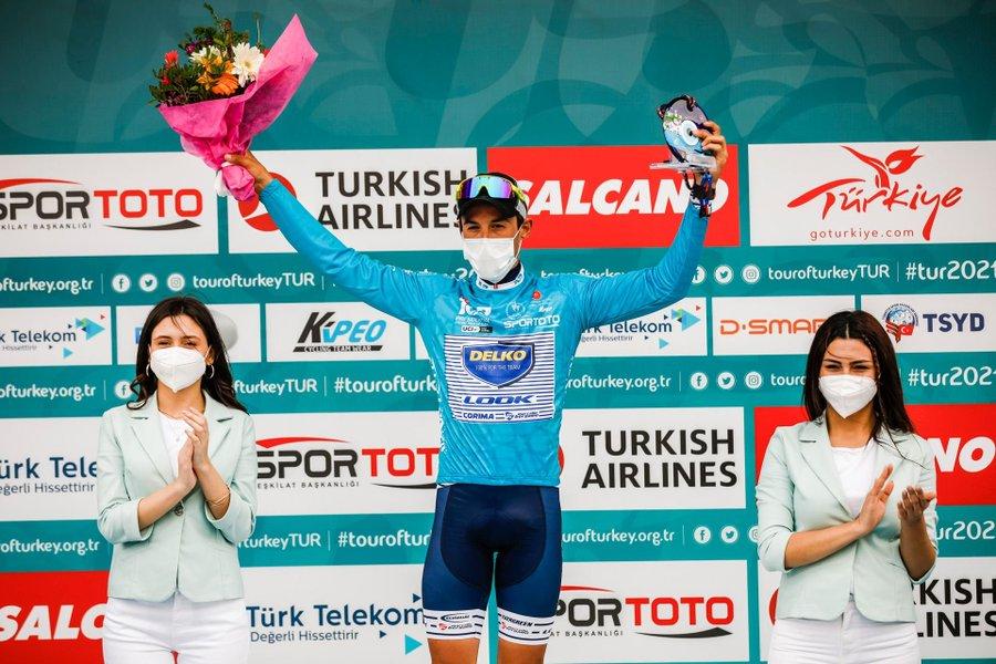 Tour de Turquía 2021 Díaz campeón