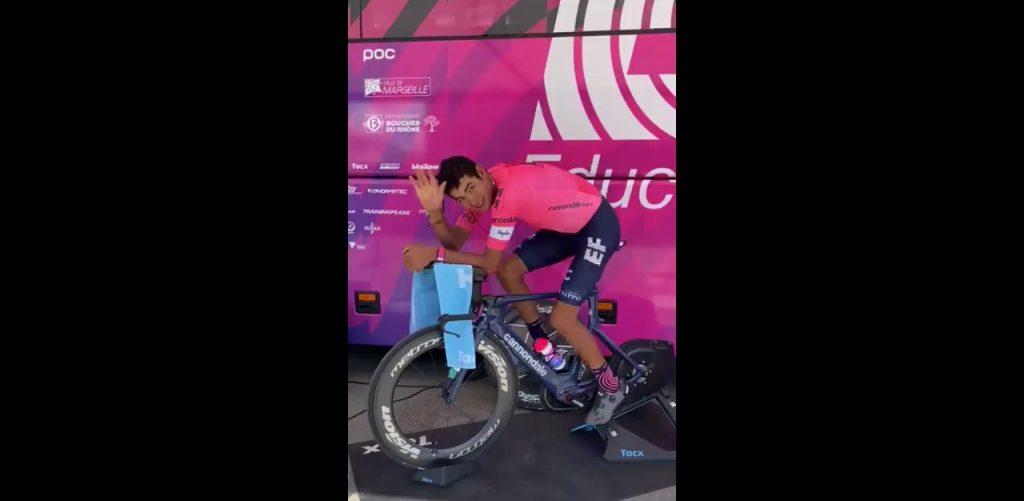 Diego Camargo mensaje Tour de Romandia 2021