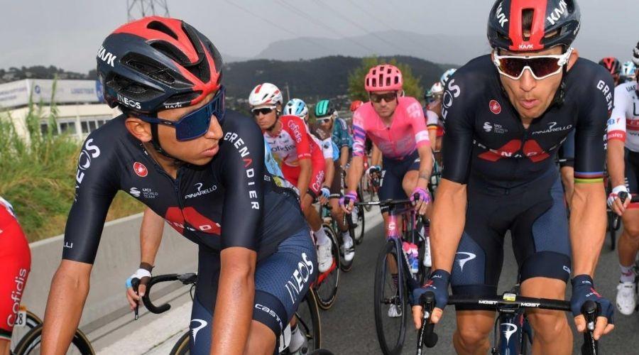 Egan Bernal carrera antes Giro Italia 2021