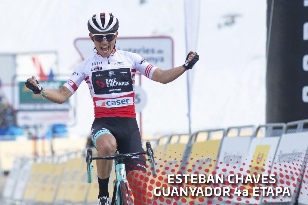 Esteban Chaves clave etapa final Vuelta al País Vasco 2021