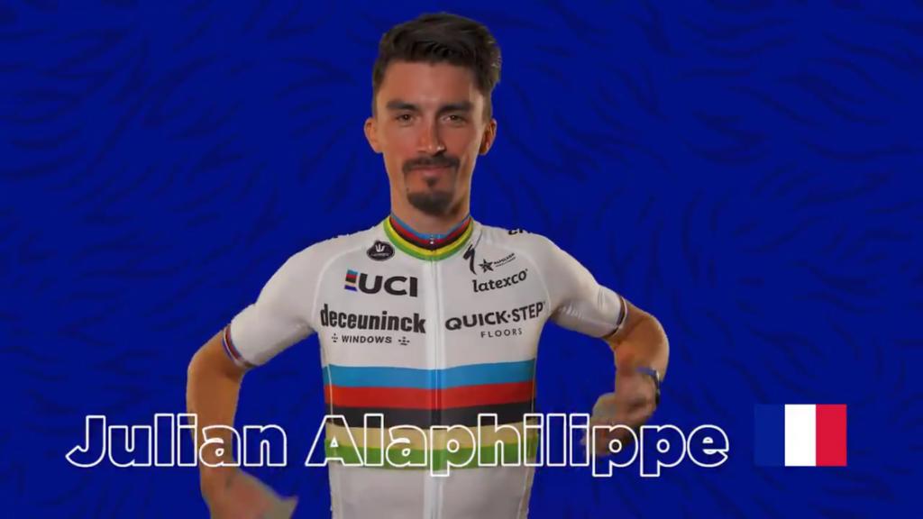 Julian Alaphilippe deseo Tour de Francia 2021
