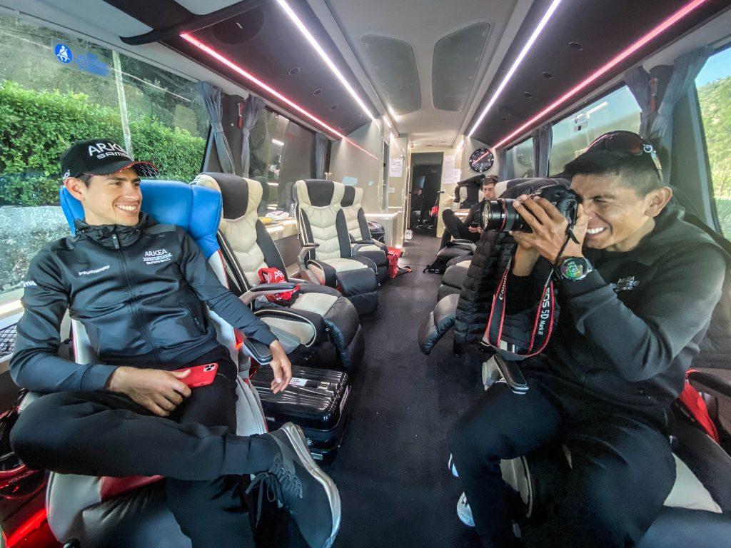 Nairo Quintana gregario podio Tour Francia 2021