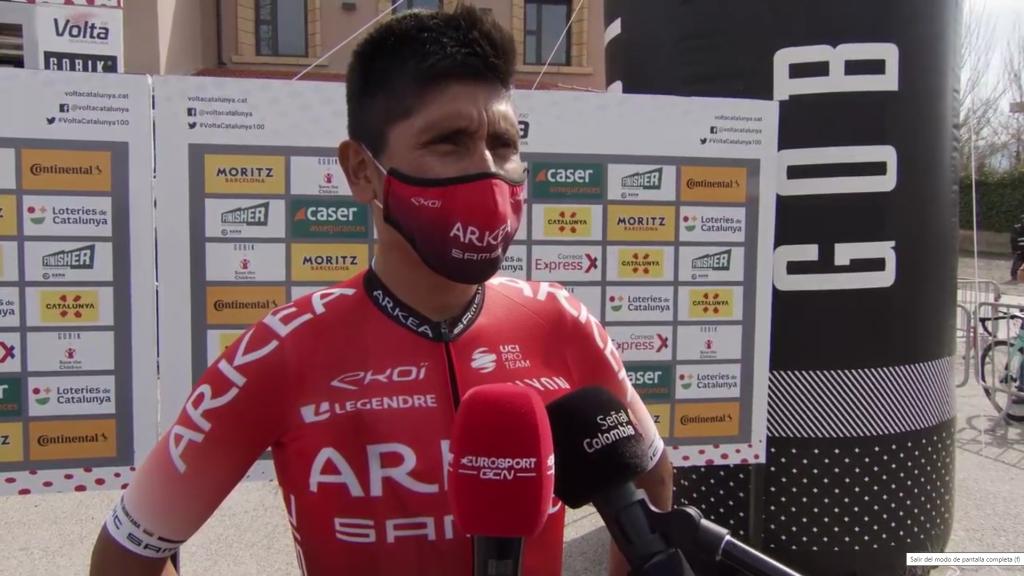 Vini interés Nairo Quintana Arkea Samsic Giro Italia 2021