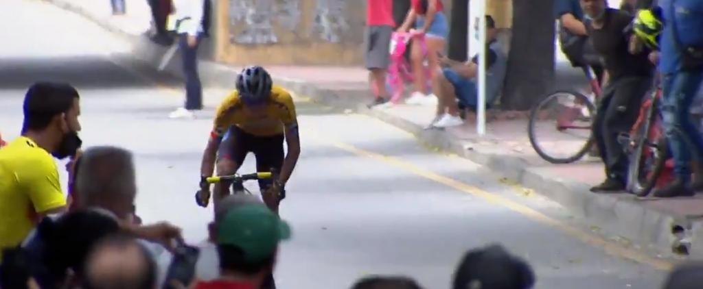 Peña mensaje rivales etapa 1 Vuelta a la Juventud 2021