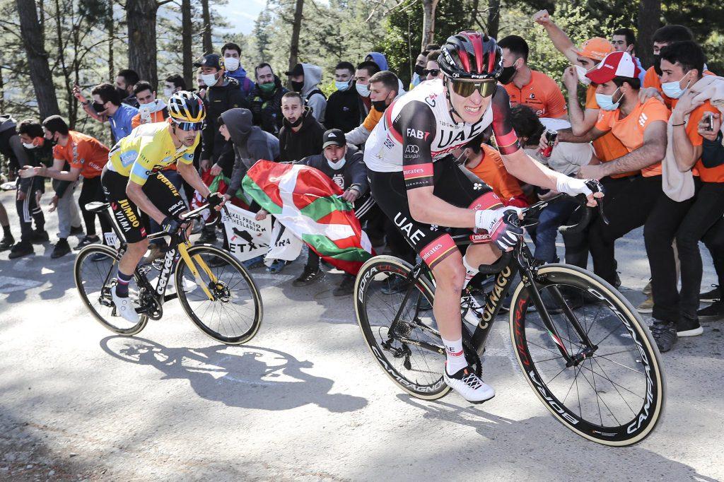 triunfo Tadej Pogacar Primoz Roglic etapa 3 País Vasco 2021