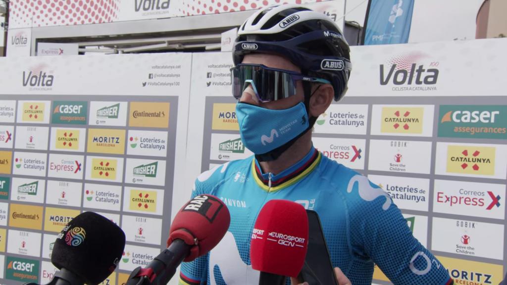 Alejandro Valverde critica Movistar Vuelta al País Vasco 2021