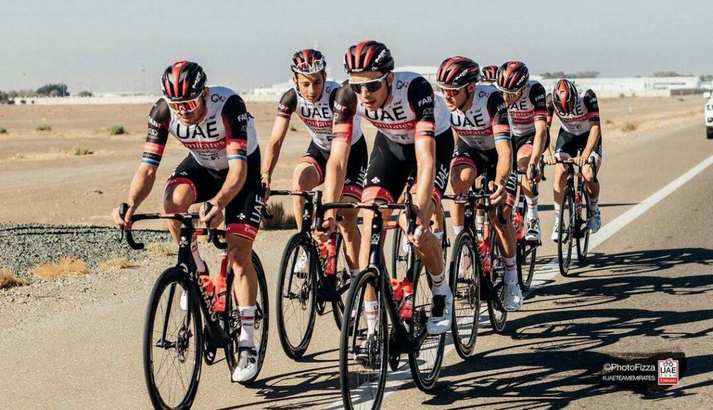 Primoz Roglic avisa UAE Team Emirates final Vuelta País Vasco 2021