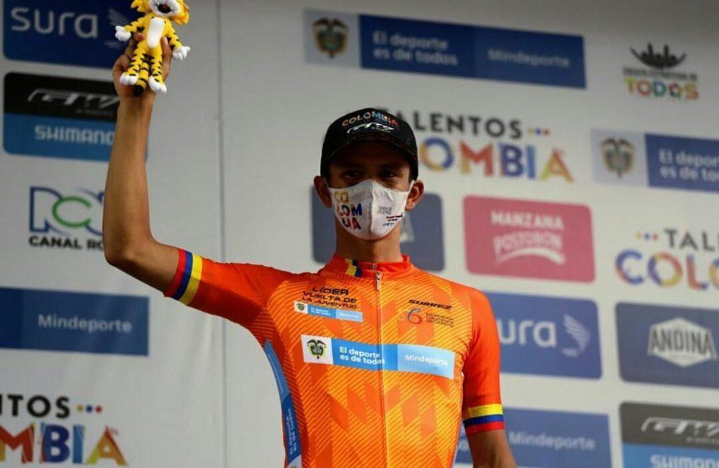 Jesús Peña campeón Vuelta Juventud 2021