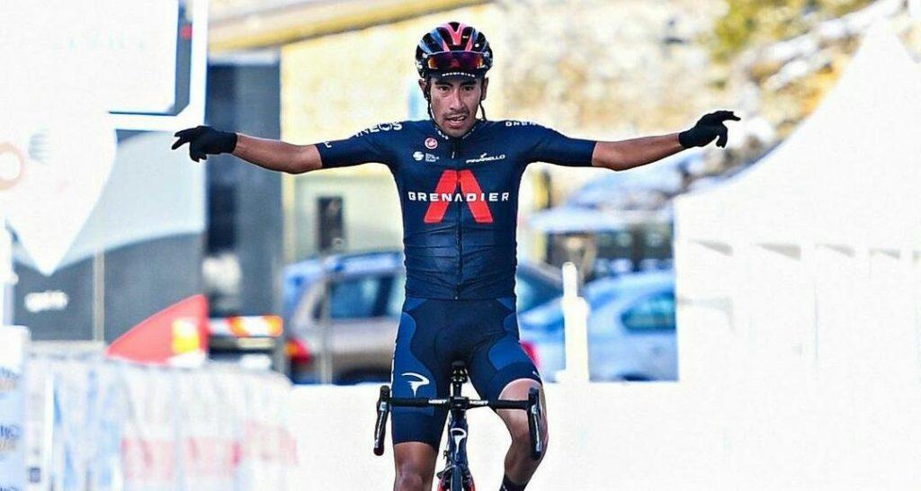 Sosa montaña etapa 2 Tour Alpes 2021