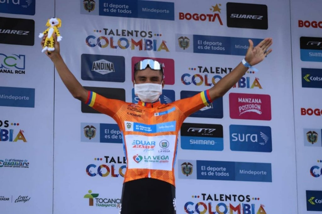 Yesid Pira reacciones actuación Vuelta Colombia 2021