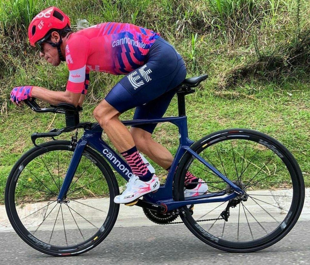 Rigoberto Urán preparación Tour de Francia 2021